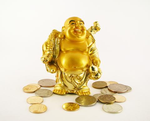 money buudha